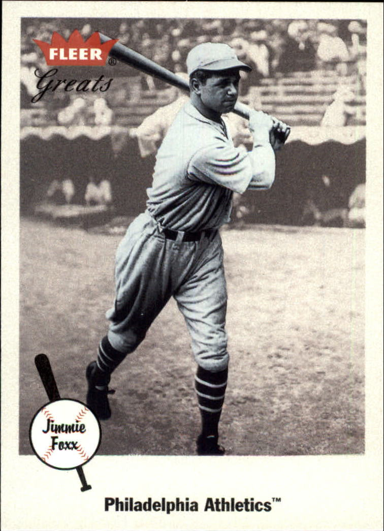 2002 Greats of the Game #21 Jimmie Foxx