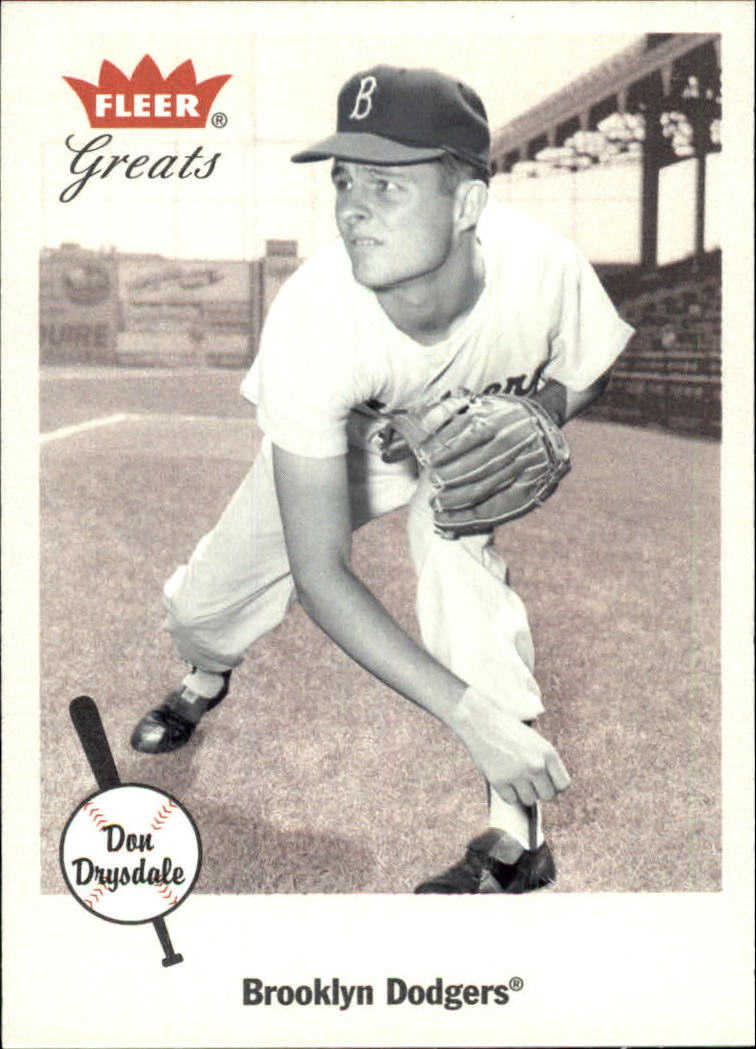 2002 Greats of the Game #24 Don Drysdale