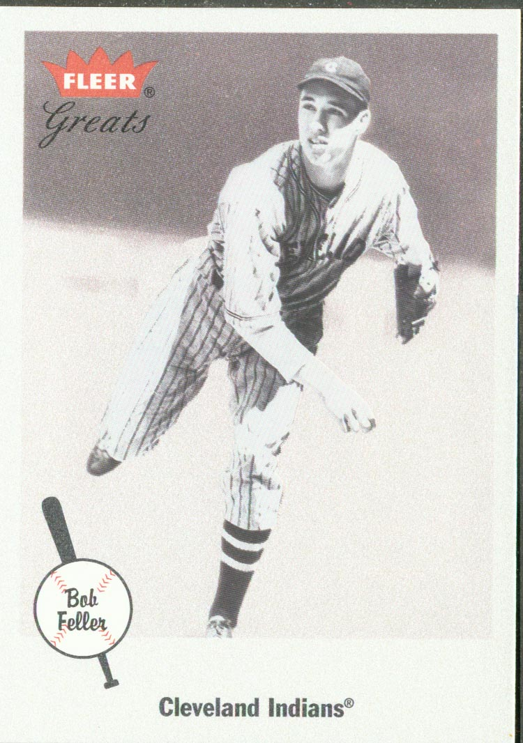 2002 Greats of the Game #25 Bob Feller front image