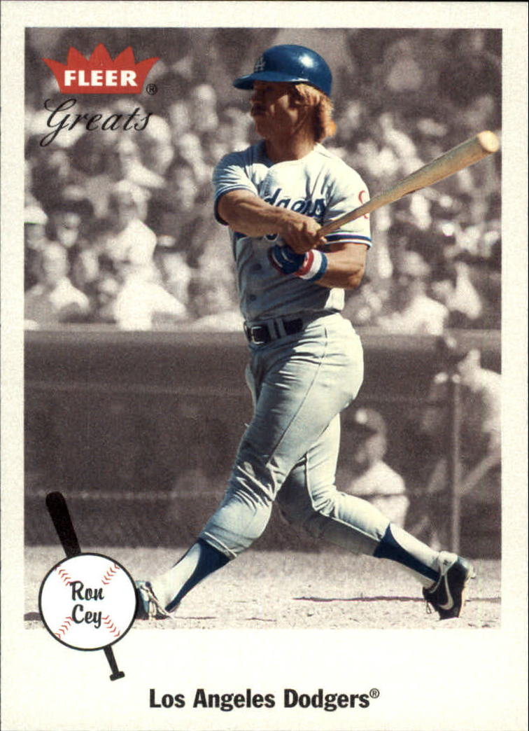 2002 Greats of the Game #31 Ron Cey