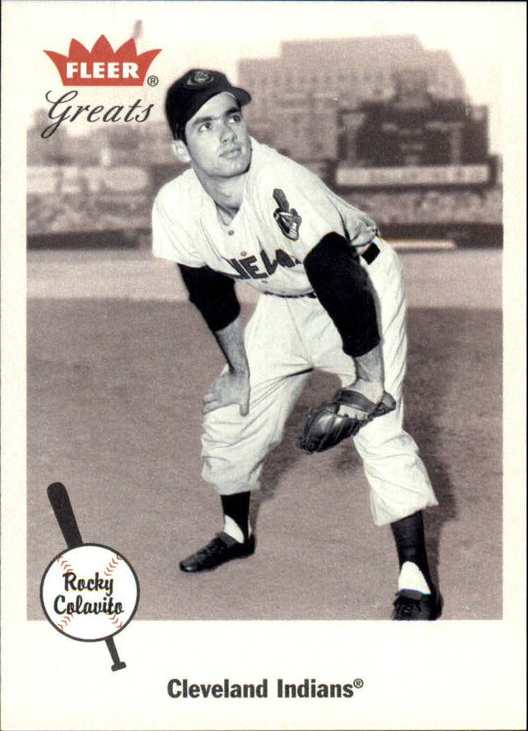 2002 Greats of the Game #34 Rocky Colavito