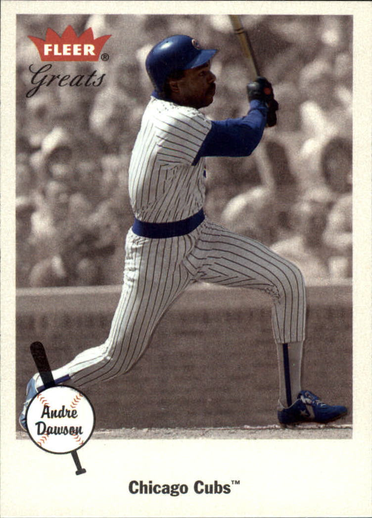 2002 Greats of the Game #36 Andre Dawson