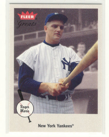 2002 Greats of the Game #38 Roger Maris