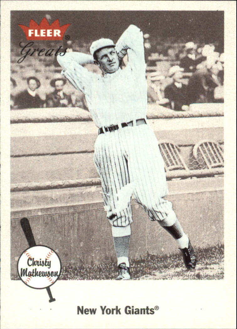 2002 Greats of the Game #41 Christy Mathewson