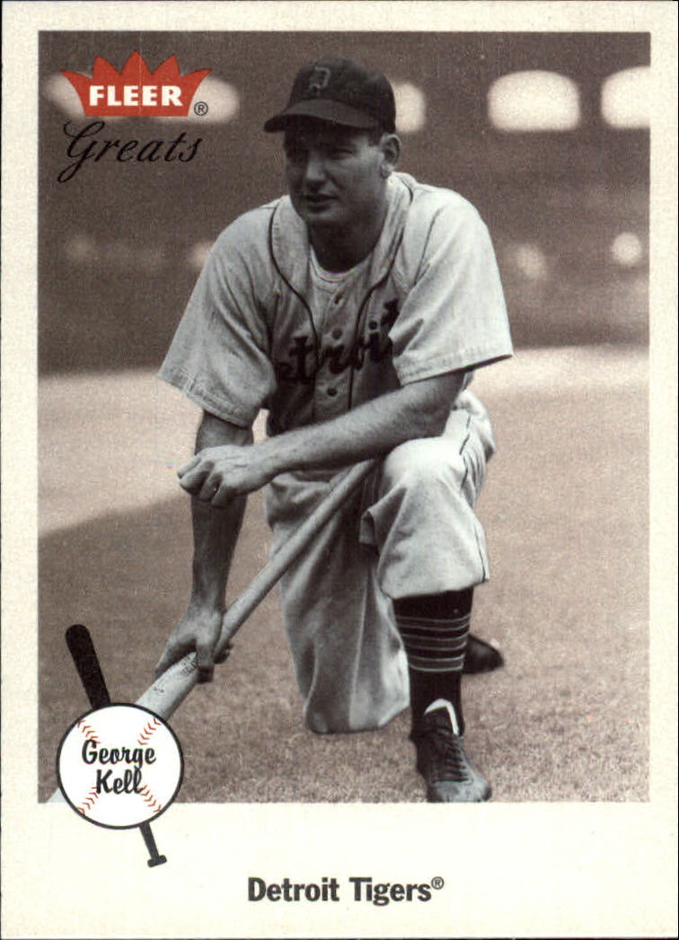 2002 Greats of the Game #46 George Kell front image