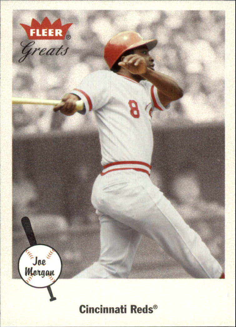 2002 Greats of the Game #48 Joe Morgan front image