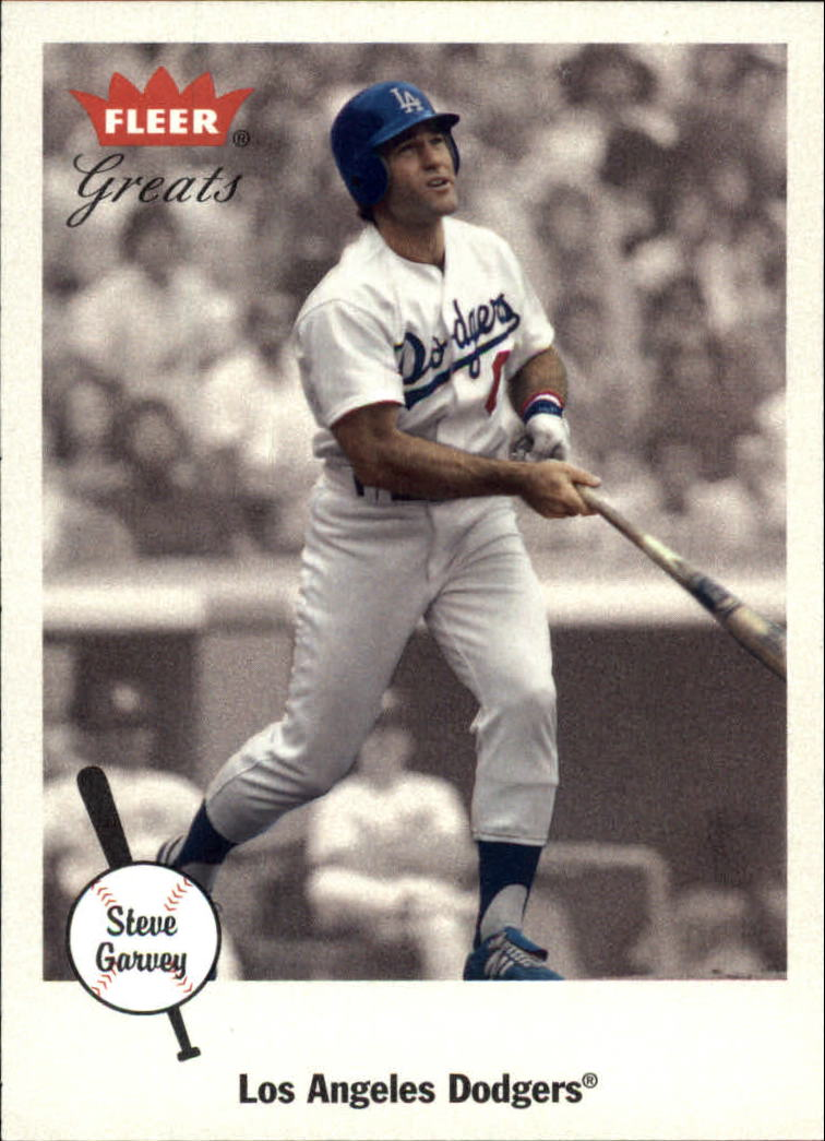 2002 Greats of the Game #49 Steve Garvey front image