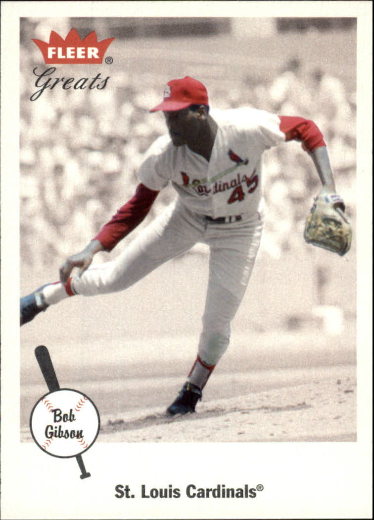 2002 Greats of the Game #50 Bob Gibson
