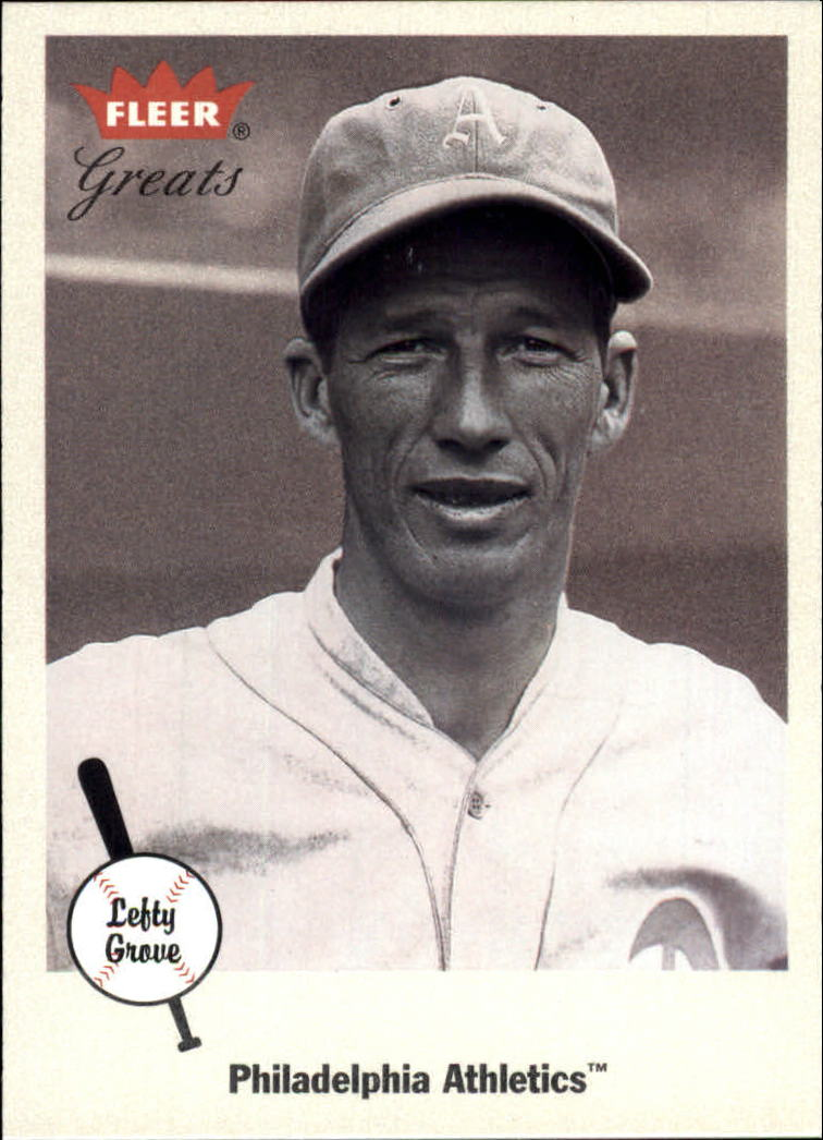 2002 Greats of the Game #51 Lefty Grove