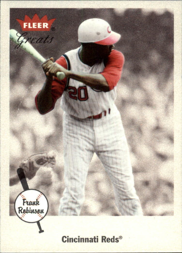 2002 Greats of the Game #54 Frank Robinson