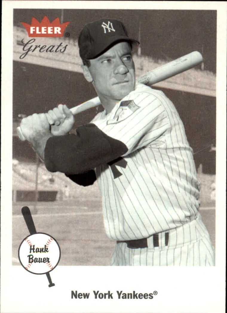 2002 Greats of the Game #56 Hank Bauer front image