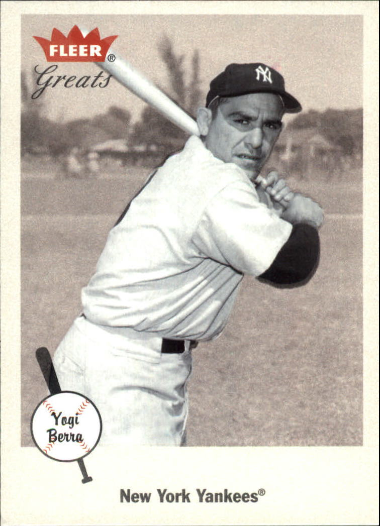 2002 Greats of the Game #60 Yogi Berra front image