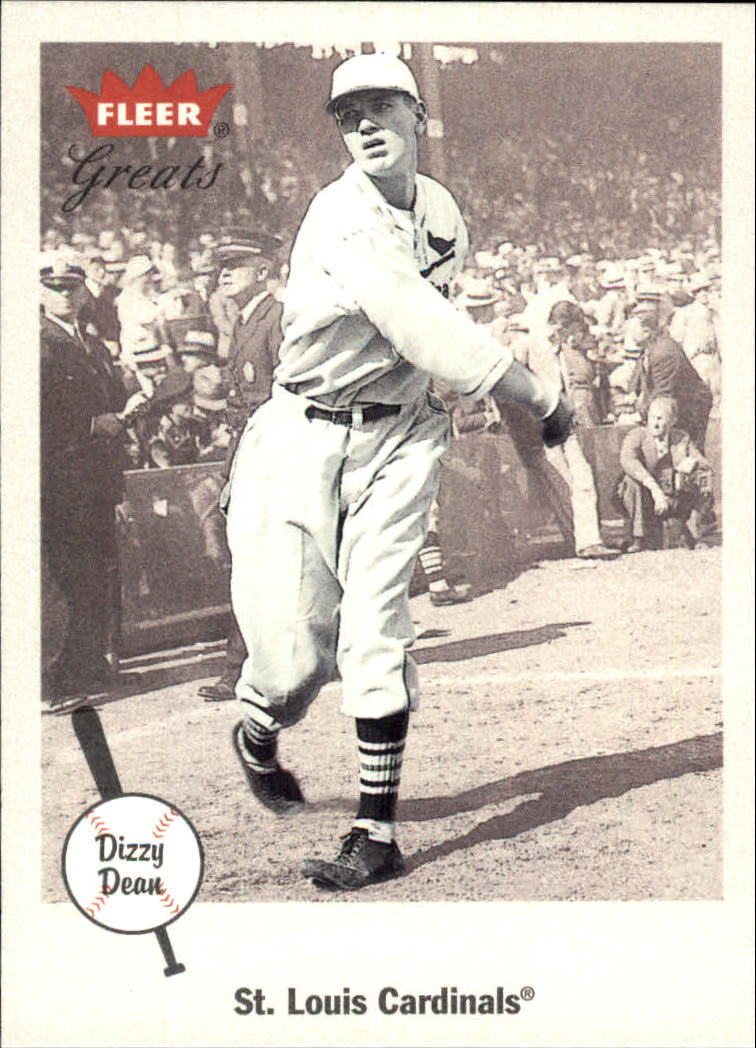 2002 Greats of the Game #62 Dizzy Dean front image