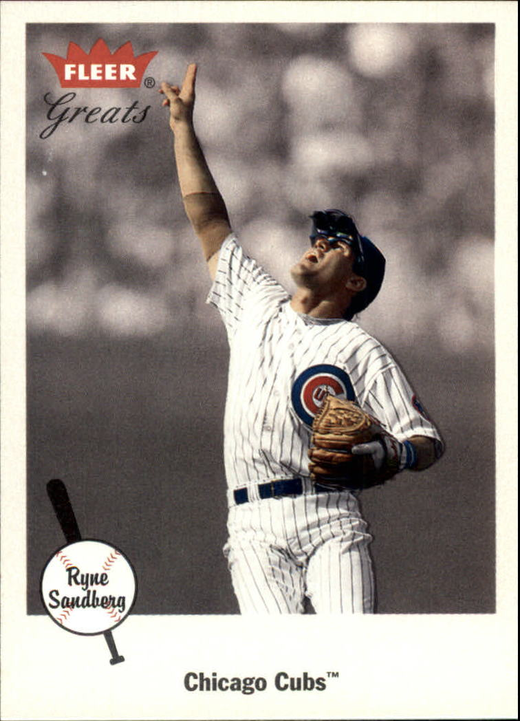 2002 Greats of the Game #63 Ryne Sandberg