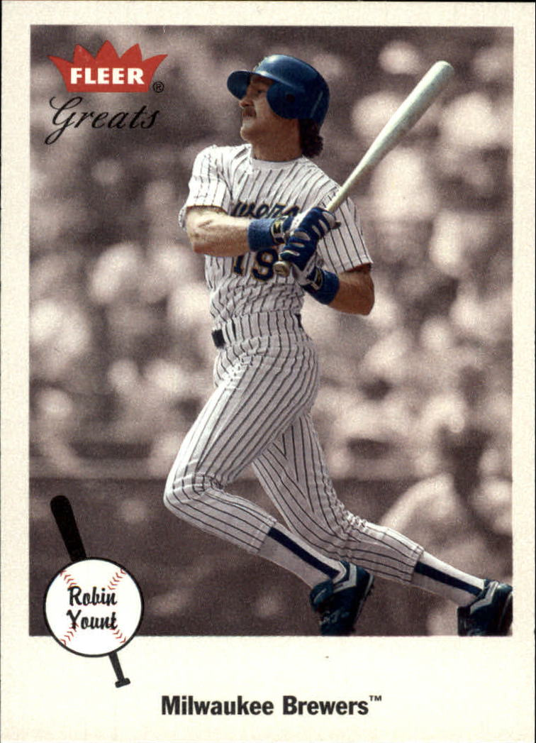 2002 Greats of the Game #66 Robin Yount