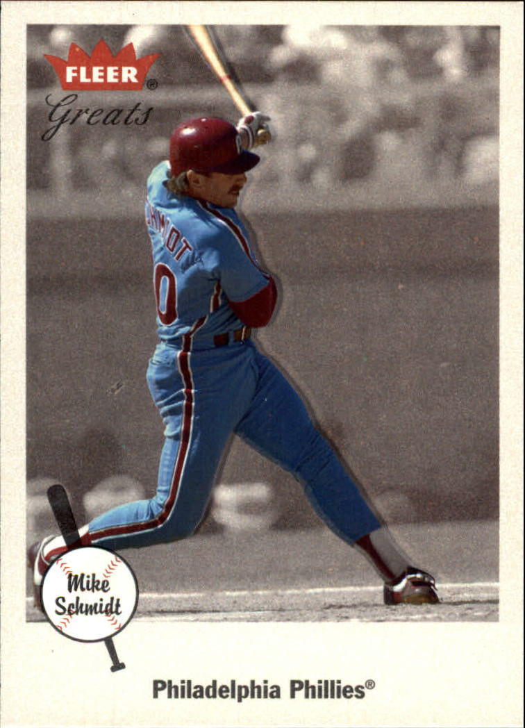2002 Greats of the Game #68 Mike Schmidt front image