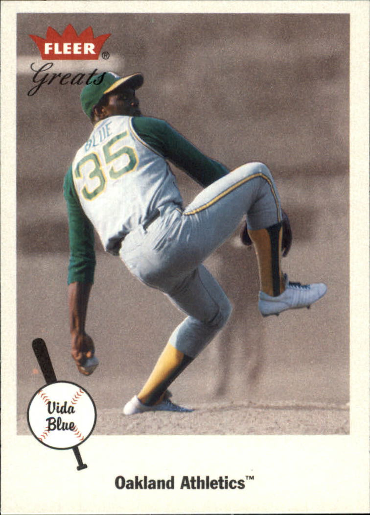 2002 Greats of the Game #69 Vida Blue