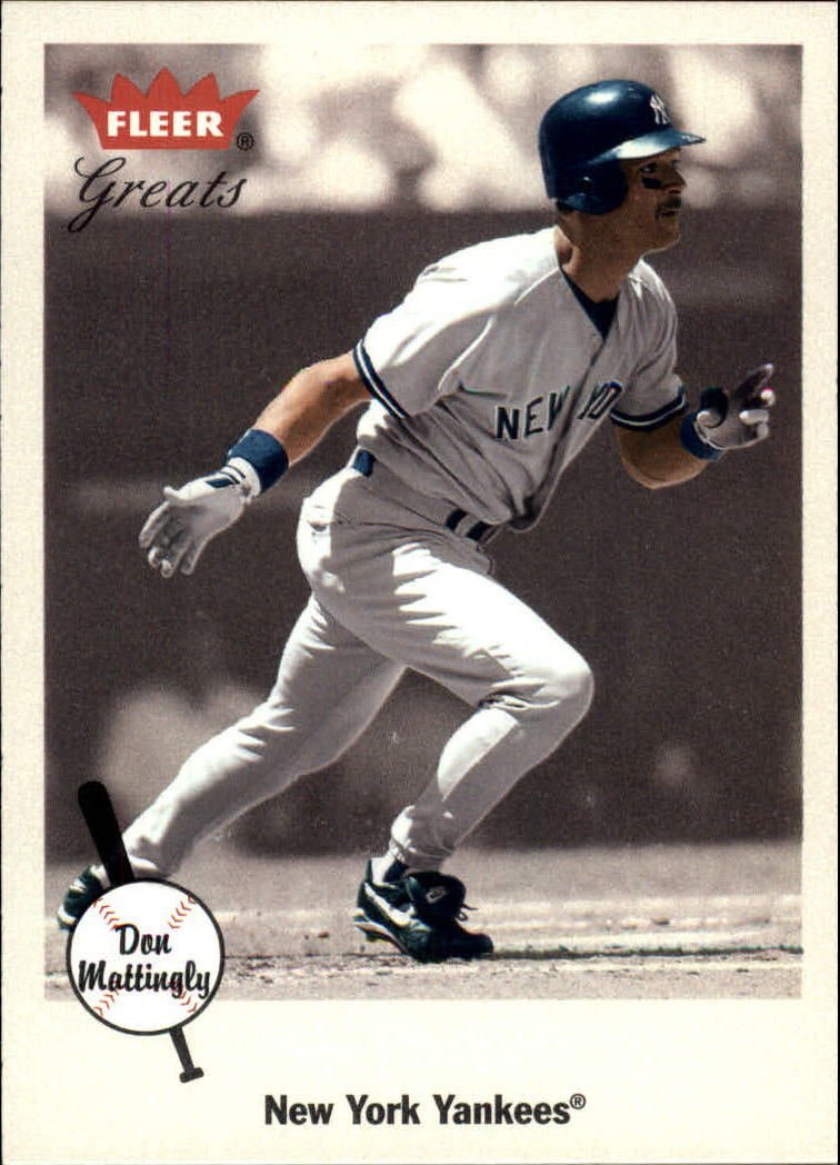 2002 Greats of the Game #74 Don Mattingly