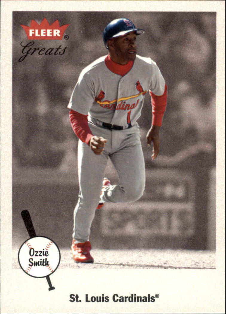 2002 Greats of the Game #79 Ozzie Smith
