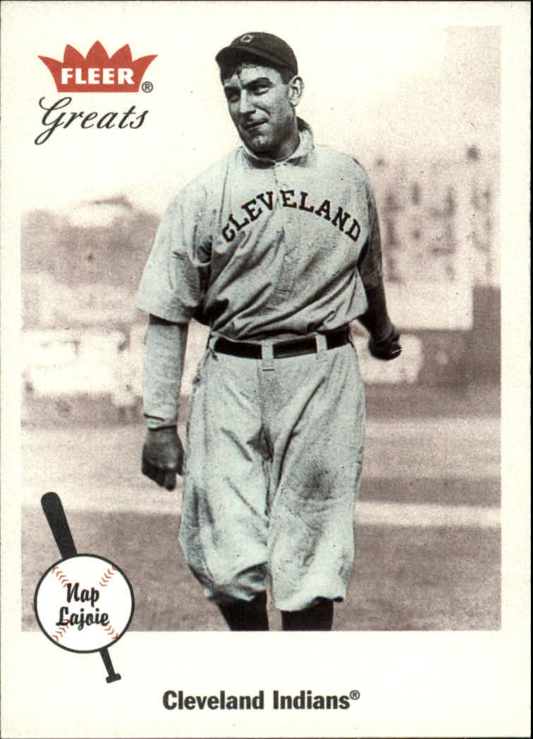 2002 Greats of the Game #81 Nap Lajoie