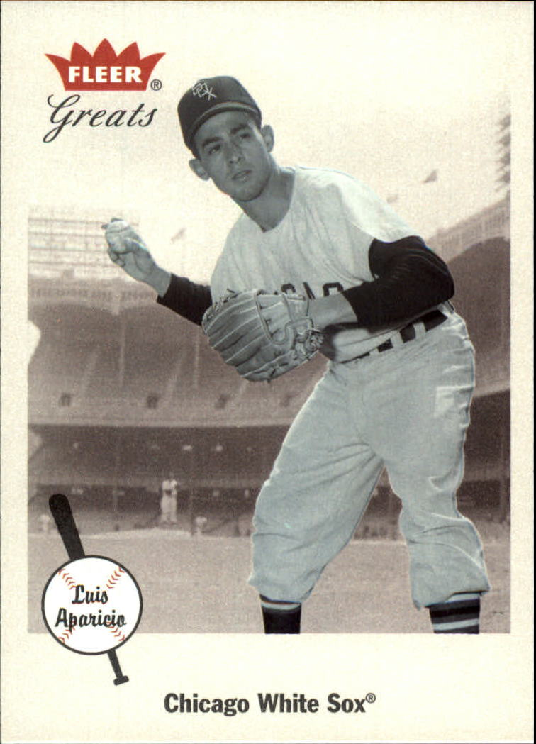 2002 Greats of the Game #84 Luis Aparicio front image