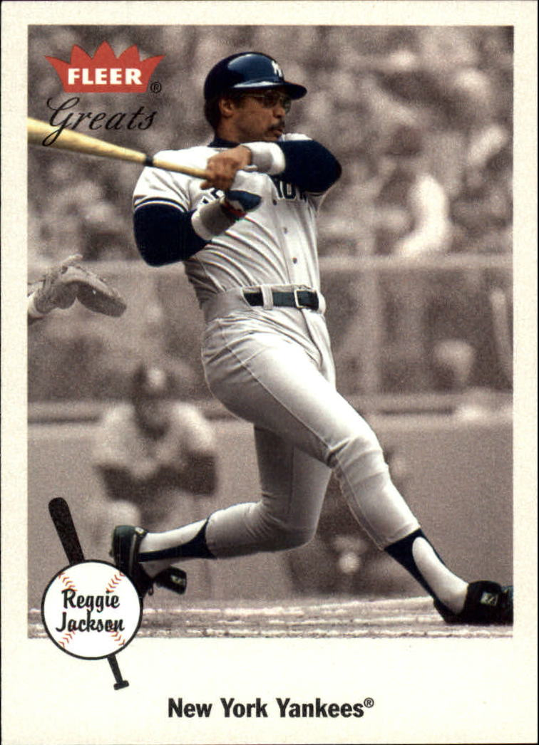 2002 Greats of the Game #85 Reggie Jackson