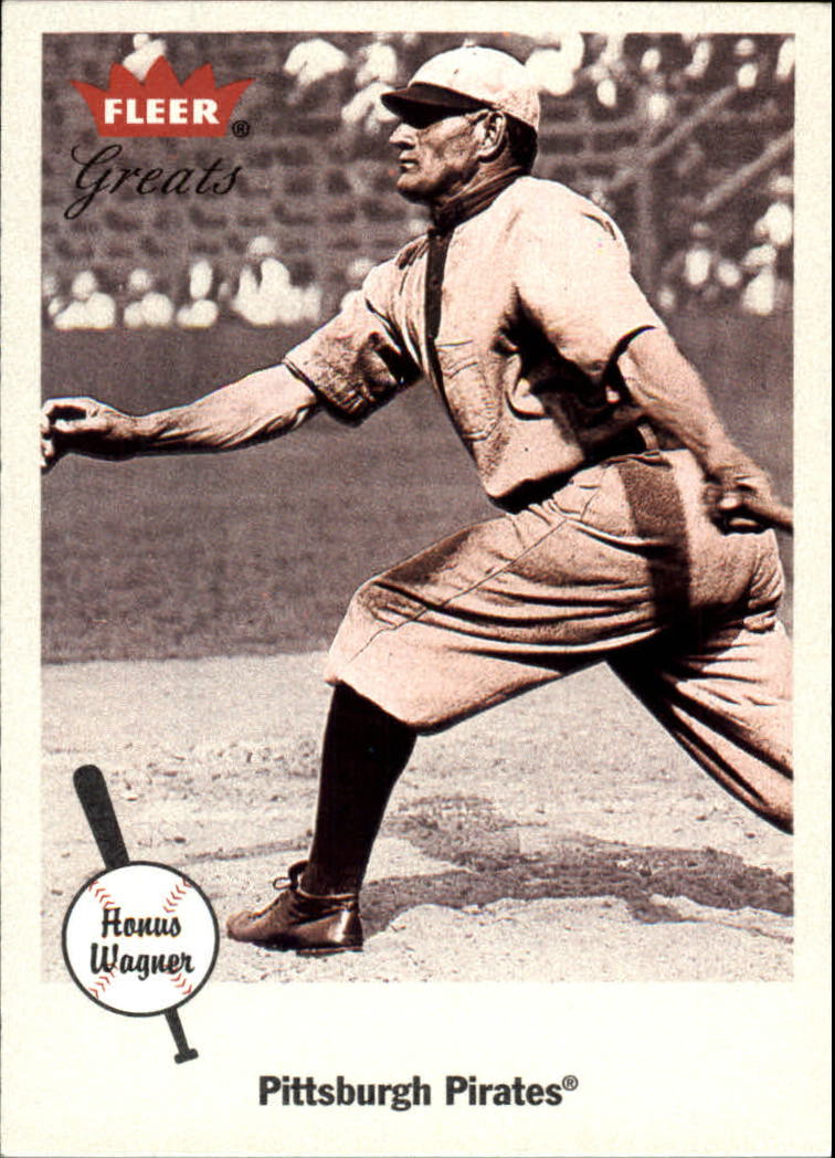 2002 Greats of the Game #86 Honus Wagner