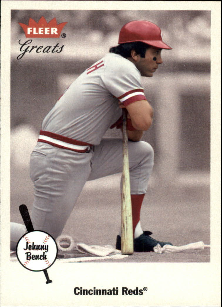 2002 Greats of the Game #87 Johnny Bench