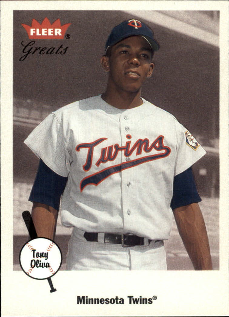 2002 Greats of the Game #90 Tony Oliva
