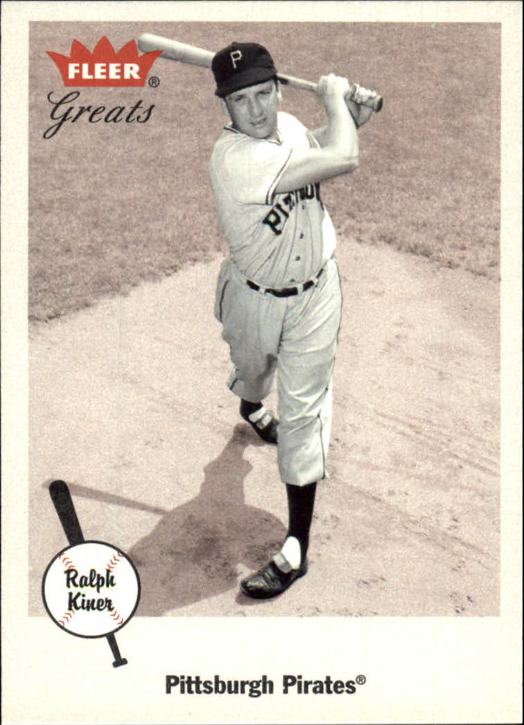 2002 Greats of the Game #94 Ralph Kiner