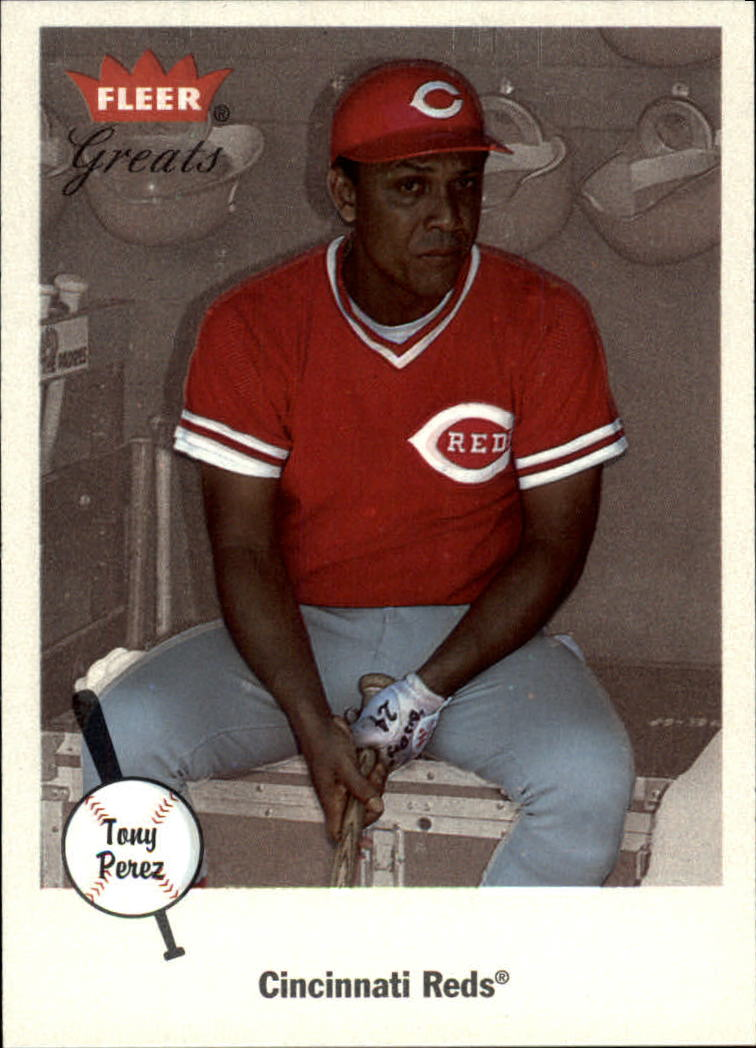 2002 Greats of the Game #95 Tony Perez
