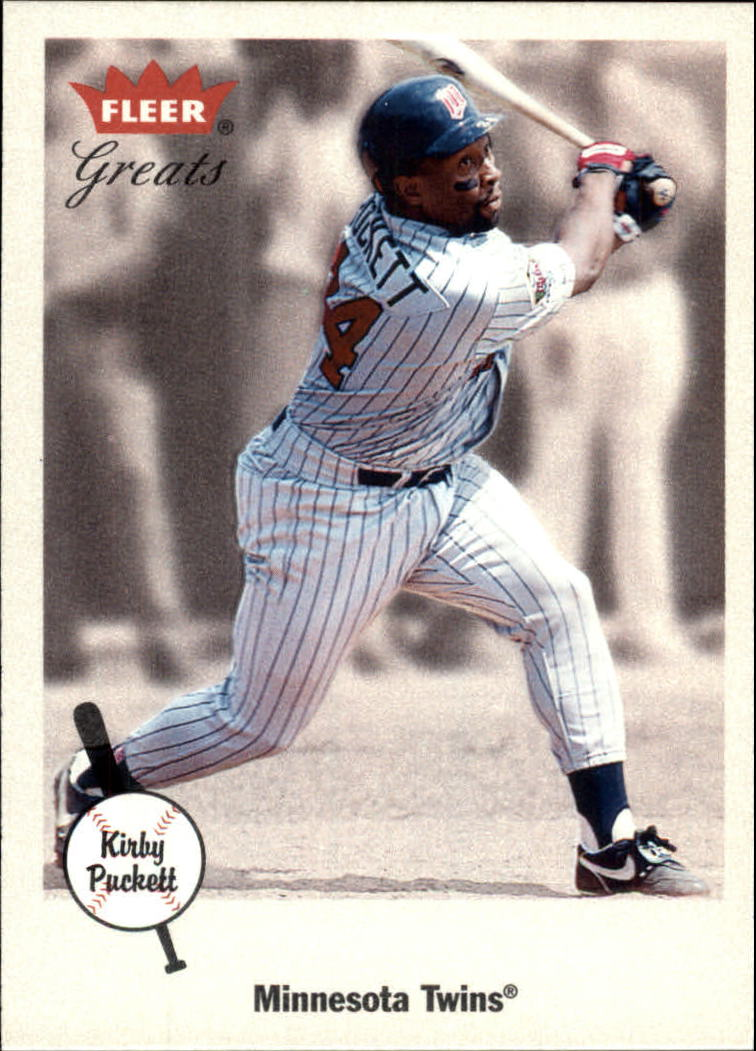 2002 Greats of the Game #96 Kirby Puckett