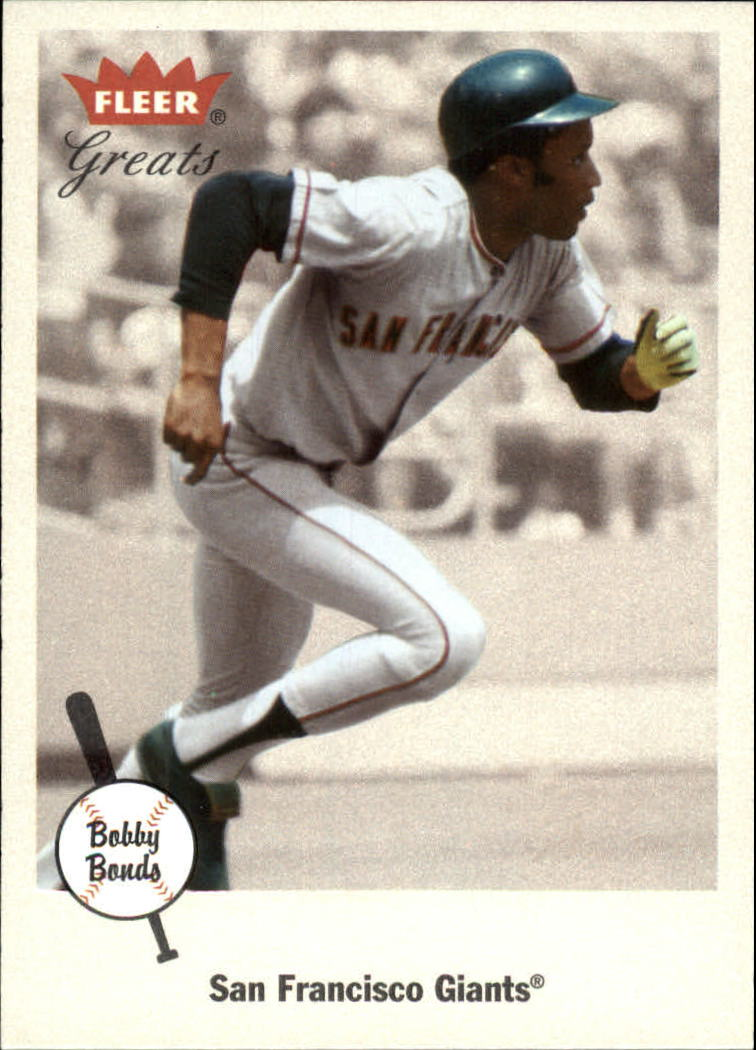 2002 Greats of the Game #97 Bobby Bonds