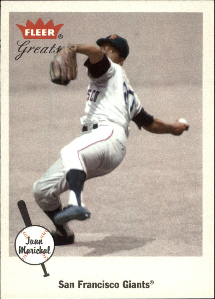 2002 Greats of the Game #99 Juan Marichal front image