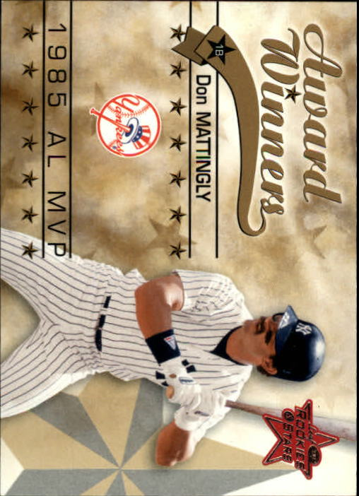 2002 Leaf Rookies and Stars #256 Don Mattingly 85 MVP