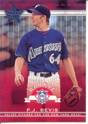 2002 Leaf Rookies and Stars #305 P.J. Bevis RS RC