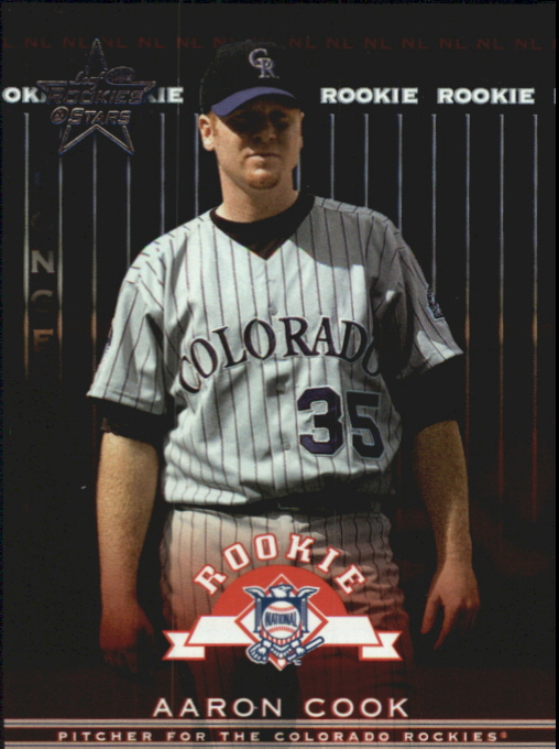 2002 Leaf Rookies and Stars Longevity #364 Aaron Cook RS