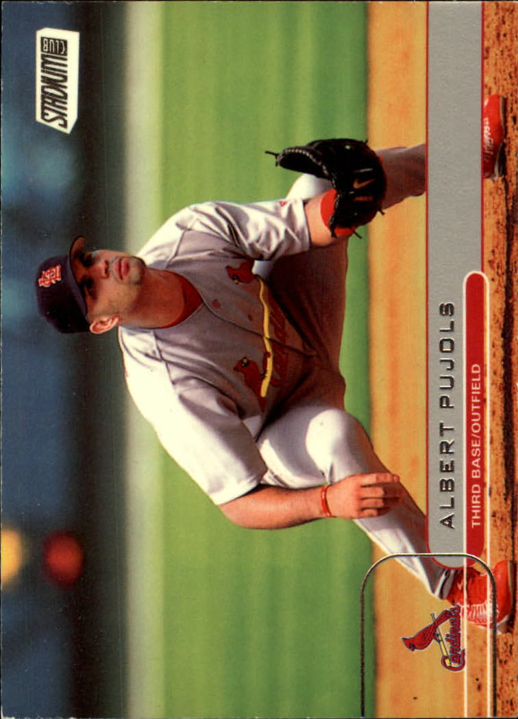 2002 Stadium Club #5 Albert Pujols