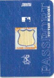 2002 Stadium Club Passport to the Majors #PTMAS Alf Soriano Bat/400