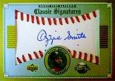 2002 Sweet Spot Classics Signatures #SOS Ozzie Smith SP/137 *