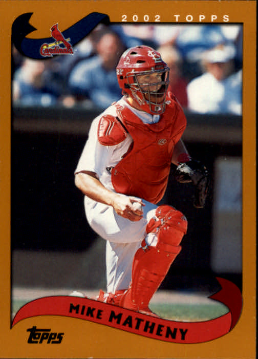 2002 Topps #4 Mike Matheny
