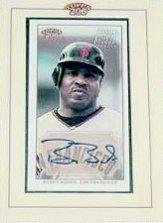 2002 Topps 206 Autographs #BB Barry Bonds A1