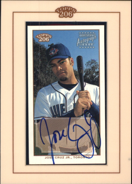 2002 Topps 206 Autographs #JC Jose Cruz Jr. A3