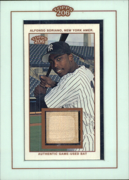 2002 Topps 206 Relics #AS1 Alfonso Soriano Bat A1