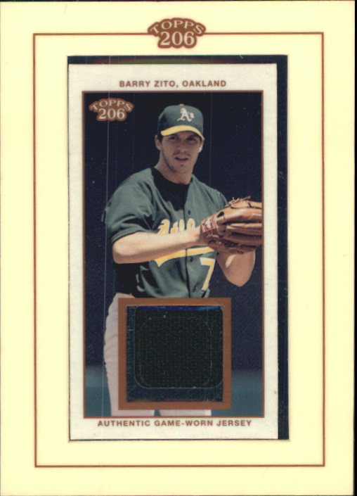 2002 Topps 206 Relics #BZ1 Barry Zito Jsy A1