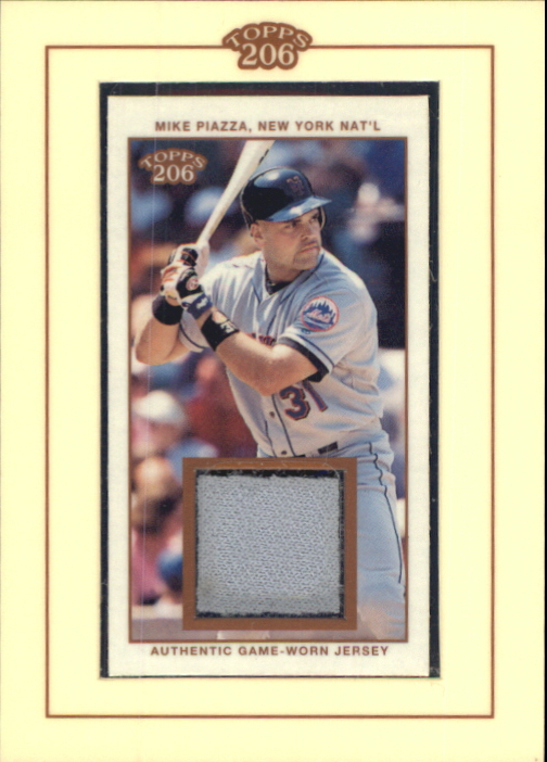 2002 Topps 206 Relics #MP1 Mike Piazza Jsy A1