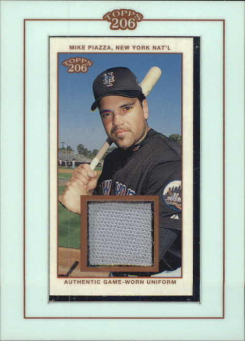 2002 Topps 206 Relics #MP2 Mike Piazza Uni C2