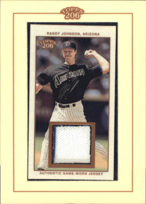 2002 Topps 206 Relics #RJ1 Randy Johnson Jsy A1