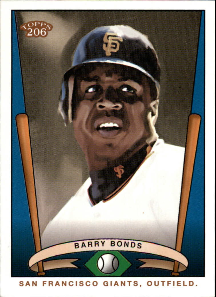 2002 Topps 206 Team 206 Series 1 #T2061 Barry Bonds