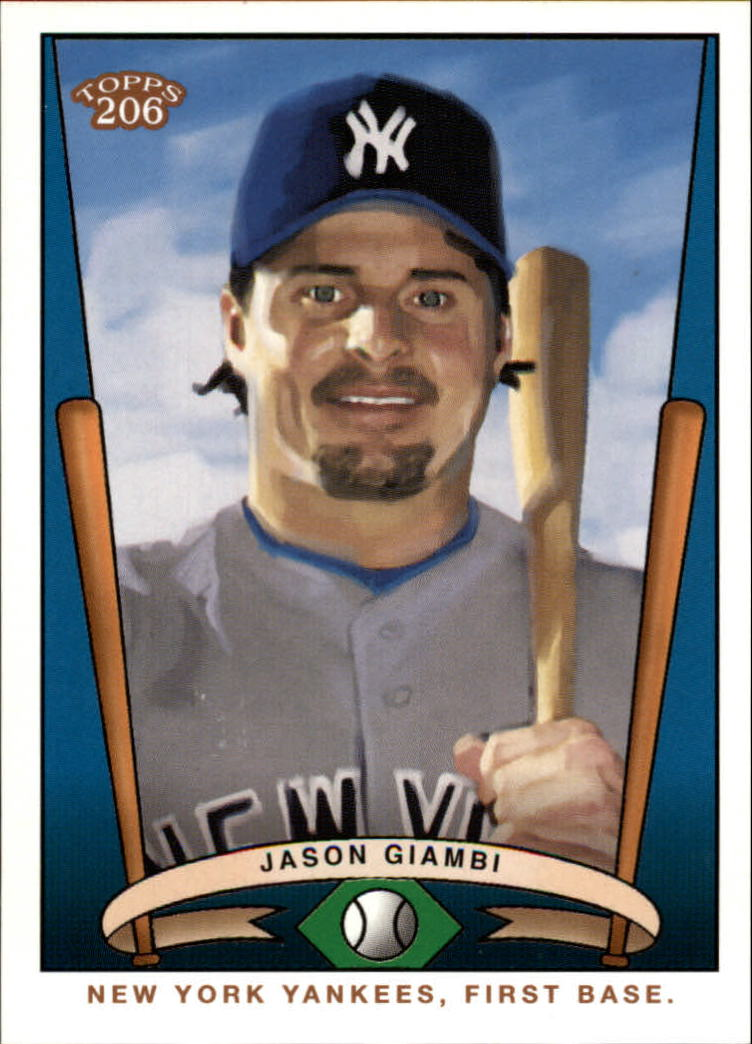 2002 Topps 206 Team 206 Series 1 #T2064 Jason Giambi Yankees